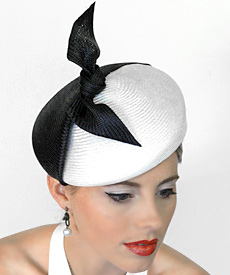Fashion hat Cruella by Melbourne milliner Louise Macdonald